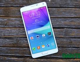 Điện thoại Galaxy Note 4 màu trắng xuất hiện tại Việt Nam