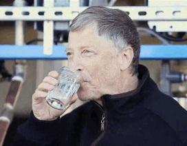 Tái chế nước uống từ... phân người
