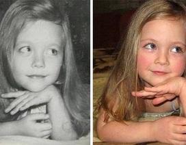 Sự giống nhau đến kinh ngạc của hai thế hệ