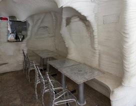 Nhà hàng xây từ muối có khả năng lọc không khí ô nhiễm