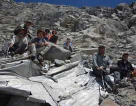 Máy bay mất tích 54 năm lại được tìm thấy