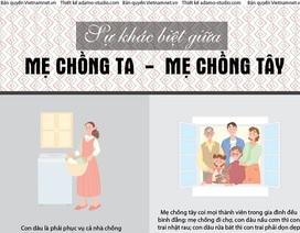 Sự khác biệt giữa mẹ chồng Ta - mẹ chồng Tây
