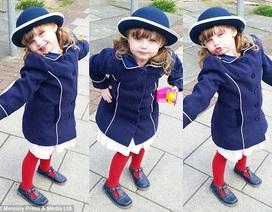 Bé 3 tuổi hút 15.000 fan Instagram nhờ phong cách thời trang