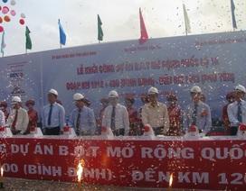 Hơn 2.000 tỷ đồng mở rộng quốc lộ 1A đoạn Bình Định - Phú Yên