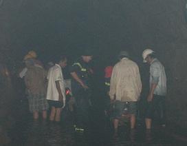 Tạm hoãn tìm kiếm nạn nhân mất tích trong hầm thủy điện
