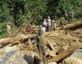 Hỗ trợ gia đình 4 nạn nhân bị núi lở vùi lấp