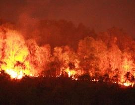 Đốt vàng mã, đốt cháy 20 ha rừng trên núi Bà Hỏa