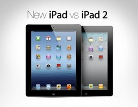 iPad mới đọ tốc độ thực tế với iPad 2