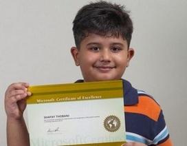 Thán phục cậu bé 8 tuổi đã trở thành chuyên gia của Microsoft