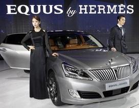 Hyundai giới thiệu xe Equus limousine phiên bản thời trang Hermes