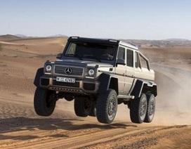 Chiêm ngưỡng quái thú Mercedes-Benz G63 AMG 6x6 chinh phục sa mạc