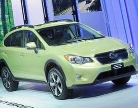 Subaru ra mắt mẫu xe hybrid đầu tiên