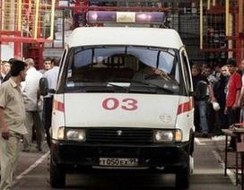 Nhà giàu Nga dùng xe cứu thương để tránh tắc đường