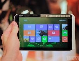 Acer ra mắt máy tính bảng Windows 8 cỡ nhỏ và phablet màn hình 5,7-inch