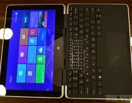"""Dell ra mắt laptop """"lai"""" máy tính bảng có khả năng biến hình"""