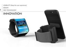 """Tuyệt đẹp ý tưởng thiết kế smartphone """"lai"""" đồng hồ thông minh"""