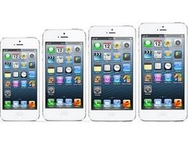 Apple sản xuất iPhone 5,7 inch, iPad màn hình 13 inch