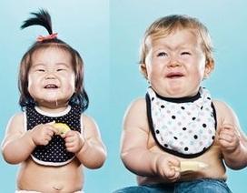 Hài hước hình ảnh em bé phản ứng lần đầu... ăn chanh