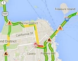 """Google Maps hỗ trợ chức năng """"chống tắc đường"""" theo thời gian thực"""