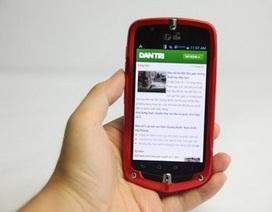 """Cận cảnh smartphone """"nồi đồng cối đá"""" của Casio tại Việt Nam"""