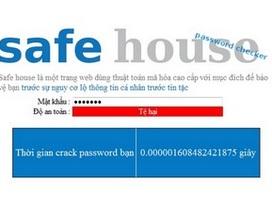 Công cụ kiểm tra độ an toàn mật khẩu của học sinh Việt Nam