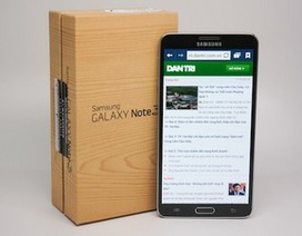 Đập hộp Galaxy Note 3 chính hãng bán tại Việt Nam