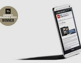 HTC One bất ngờ được vinh danh là thiết bị công nghệ của năm