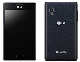 LG trình làng smartphone chạy nền tảng Firefox OS đầu tiên