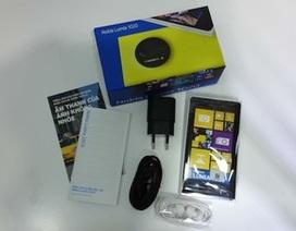 Cận cảnh điện thoại Lumia 1020 chính hãng tại Việt Nam