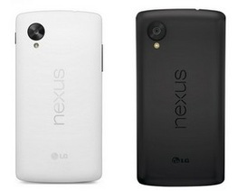 Nexus 5 sẽ có 2 màu đen trắng, ra mắt ngày 1/11