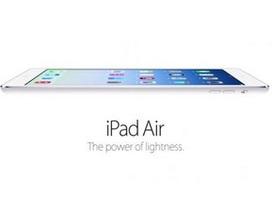 10 điều cần biết về iPad Air mới trình làng của Apple