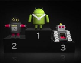 Android thống lĩnh thị trường smartphone với 81% thị phần toàn cầu