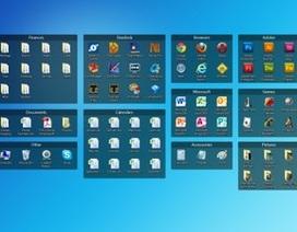 Tuyệt chiêu để có màn hình desktop ngăn nắp và gọn gàng