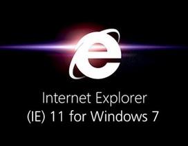 IE11 cho Windows 7 nhanh nhất từ trước đến nay chính thức ra mắt