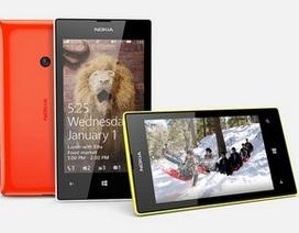 Nokia âm thầm giới thiệu smartphone tầm trung Lumia 525
