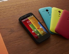 """Motorola chính thức trình làng smartphone """"tắc kè hoa"""" giá rẻ Moto G"""
