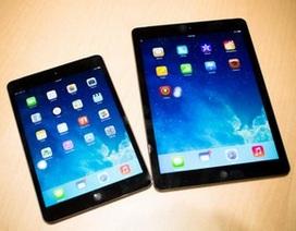 iPad Air, iPad Mini Retina chính thức bán tại Việt Nam từ ngày 30/11