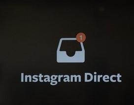 Ứng dụng chia sẻ hình ảnh Instagram thêm chức năng gửi tin nhắn