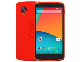 Nexus 5 phiên bản màu đỏ chính thức xuất hiện, giá bán không đổi