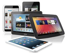 Doanh số Android lần đầu tiên vượt iOS trên thị trường máy tính bảng