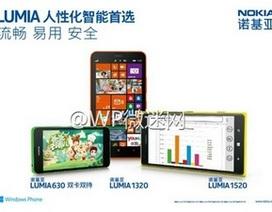 Lộ ảnh chính thức và cấu hình chi tiết Lumia mới của Nokia