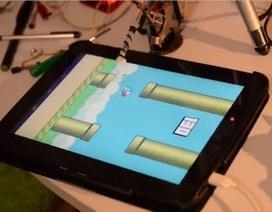 """Robot tự chế chơi Flappy Bird cực """"siêu"""""""