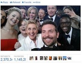 """Bức ảnh """"tự sướng"""" của dàn sao Hollywood lập kỷ lục trên Twitter"""