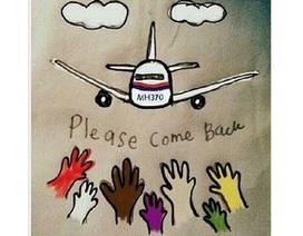 Cộng đồng mạng Việt đồng cảm với sự mất tích kì lạ của máy bay Malaysia