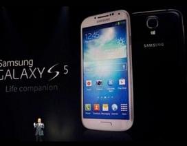 Galaxy S5 tiêu thụ nhiều gấp đôi Galaxy S4 trong ngày đầu bán ra