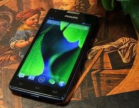 """Philips ra mắt smartphone với pin """"khủng"""" cho thời gian chờ lên đến 2 tháng"""