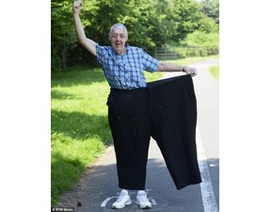 """Giảm 120 kg trọng lượng cơ thể trong 18 tháng vì bị vợ """"chê"""" béo"""