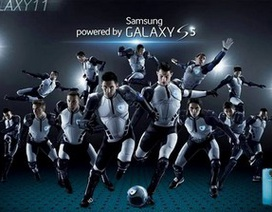 """Trận bóng """"giải cứu trái đất"""" cực hấp dẫn trong clip quảng cáo của Samsung"""