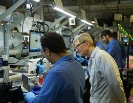 Bất ngờ với hình ảnh máy tính chạy Windows bên trong nhà máy Apple tại Mỹ