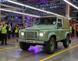 Land Rover Defender - Khép trang sử vàng